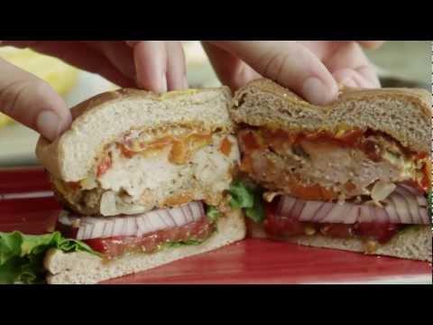 How to Make Grilled Chicken Burgers | Burger Recipe | Allrecipes.com