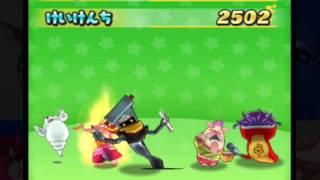 【妖怪ウォッチぷにぷに】ブシ王に挑む!ビッグボスチーム対ジバコマチーム!