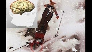 Michael Schumacher ski accident,crash !!!