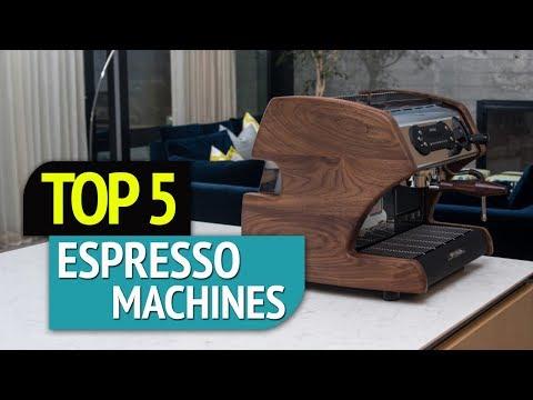 TOP 5: Espresso Machines