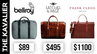 The Best Briefcases For Men From $90-$2,000 | Briefcase Round-up 2020