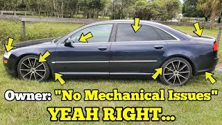 """I Traded my JUNK Porsche Turbo for an Audi with """"No Mechanical Issues"""" IT FAILED ON ITS FIRST DRIVE!"""