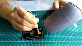 The chip was transplanted to the black card