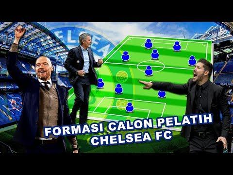 """"""" Ini dia Calon Pelatih Chelsea Berserta Starting Xl Mereka Apabila Melatih Chelsea """""""