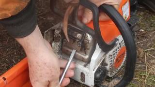 Stihl MS170 Slows Down / Loses Power / Bogs