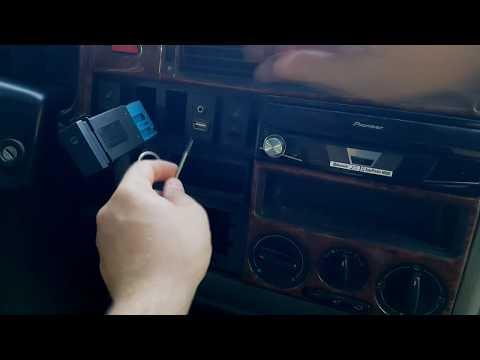 VW T4 Bj. 2001 Zigarettenanzünder Verkleidung abmontieren für Handy Halterung