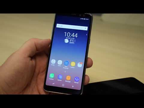 Samsung Galaxy A8 (2018), video anteprima