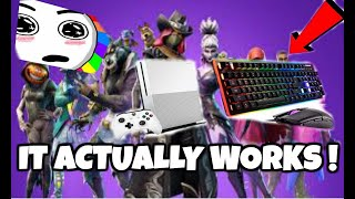 how to play fortnite with keyboard and mouse on xbox one x