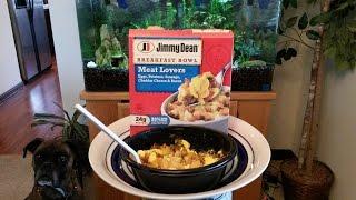Jimmy Dean Meat Lovers Breakfast Bowl Review