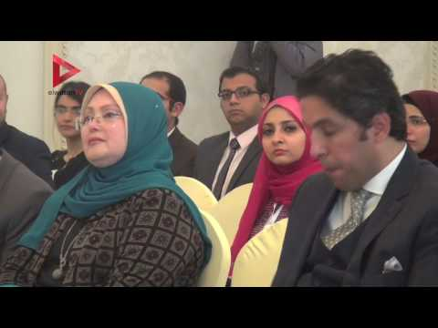 نبيلة مكرم:  رغم ضعف إمكانياتنا جمعنا 31 عالما في مؤتمر