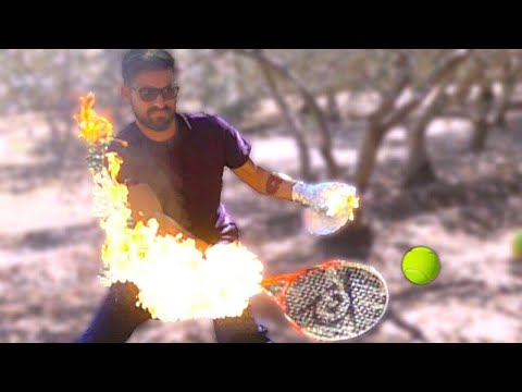 TENNIS INFUOCATO IN SLOW MOTION! (1000 FPS)