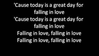 Taio cruz-falling in love lyrics
