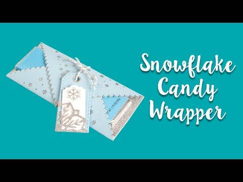 DIY Snowflake Candy Wrapper Craft!