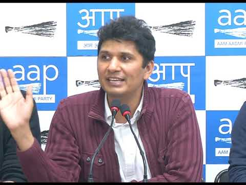 BJP's Govt has created an Atmosphere Where Anti- Social elements instigate attack on Delhi CM