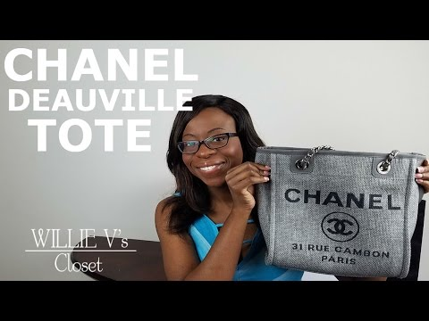Chanel Deauville Tote Review 2017