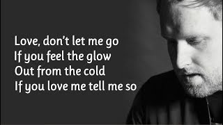 Gavin James   Glow (Lyrics)