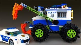 LEGO Мультик 🔴 Полицейская Машина Крушитель 🚔 Мультики про машинки