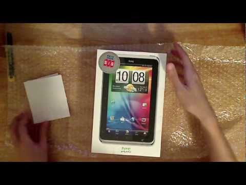 Htc Flyer  3g 32Gb Unboxing