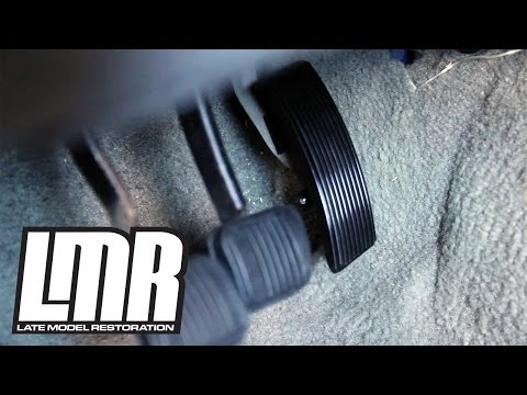 Fox Body Mustang Accelerator/Gas Pedal Install - 5.0Resto (83-93)