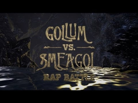 This Rap Battle Between Gollum And Smeagol Is Both Gross And Awesome