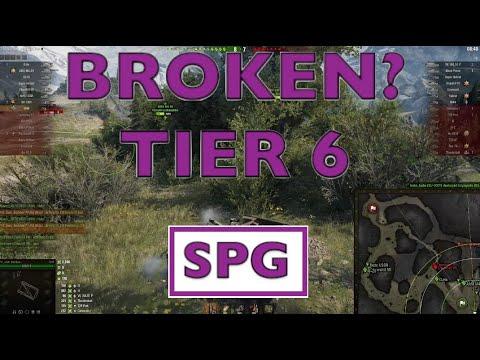 WOT - Most Broken OP Tier 6 SPG | World of Tanks