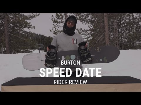 Burton Speed Date 2019 Snowboard Rider Review – Tactics.com