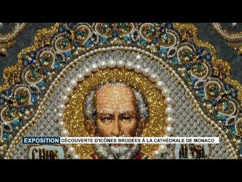 Exhibition: embroidered icons on display at Monaco Cathedral