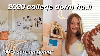 COLLEGE DORM HAUL 2020- Essentials, Decor, Organization, Etc.