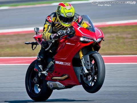 2013 Ducati 1199 Panigale R Test Ride Video
