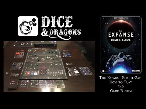 Dice and Dragons - The Expanse Board Game How to Play and Review