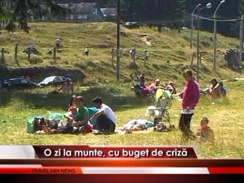 O zi la munte, cu buget de criză – VIDEO