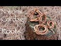 Natural Cordage. Pine and Silver Birch Roots.