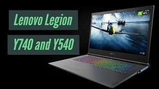 Lenovo Legion Y740 First Look | CES 2019