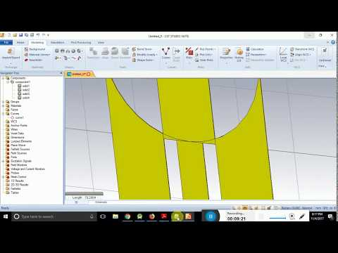 How to Design Antipodal Vivaldi antenna using with CST Studio Suite