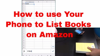 How to List Books on Amazon using your Phone
