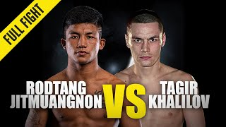 Rodtang vs. Tagir Khalilov | ONE Championship Full Fight