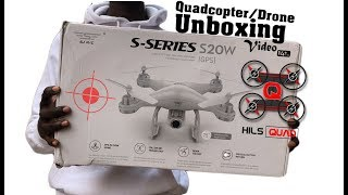 Best Budget Entry Level Photography Drone - SKRC S20w GPS Follow Me Quadcopter Drone Unboxing Video фото