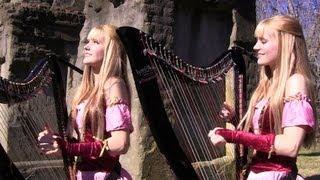 ZELDA: Skyward Sword (Ballad of the Goddess) HarpTwins - Camille&Kennerly