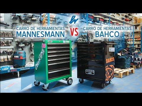 Carro Mannesmann VS Carro Bahco by Herraiz