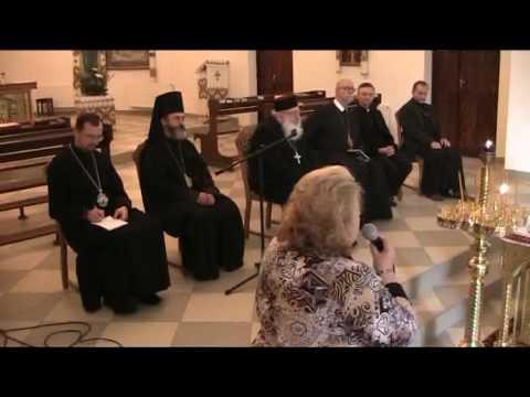 Зустріч духовенства тавірних Луцького Екзархату зБлаженнішим Патріархом Любомиром (Гузаром) таєпископами синоду УГКЦ