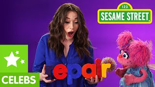 Sesame Street: Repair with Kat Dennings and Abby