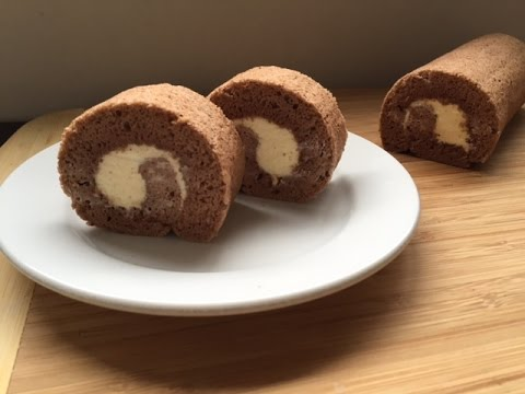 How To Make Chocolate Swiss Roll Cake (resep Bolu Gulung Coklat)