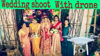 Dji phantom 4pro Wedding shoot video | Saadi me drone se video kaise shoot kare