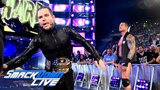 Jeff Hardy joins SmackDown LIVE: April 17, 2018