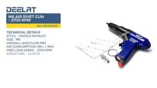 M6 Air Rivet Gun - 2700 RPM