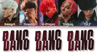 BIGBANG (빅뱅)   BANG BANG BANG (뱅뱅뱅) (Japanese Version) (Color Coded Lyrics EngRomKan)