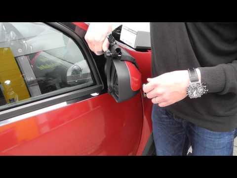 Repusel Alufor Montage am Dacia Duster