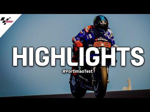MotoGP 新型マシンテストのハイライト動画