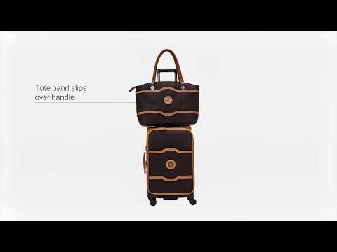 Delsey Luggage Chatelet Softside 27 inch 4 Wheel Spinner, Champagne