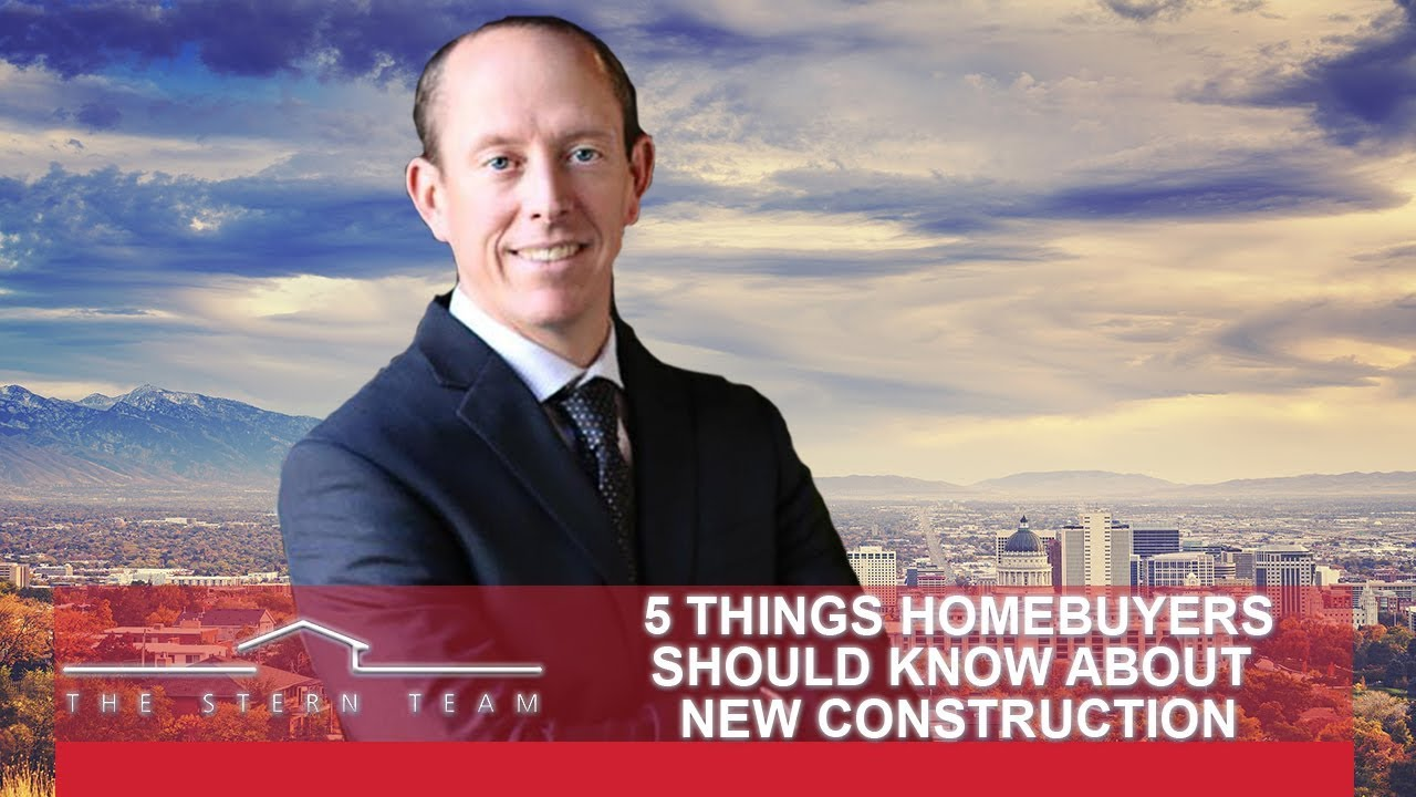 What All Homebuyers Must Know About New Construction Properties